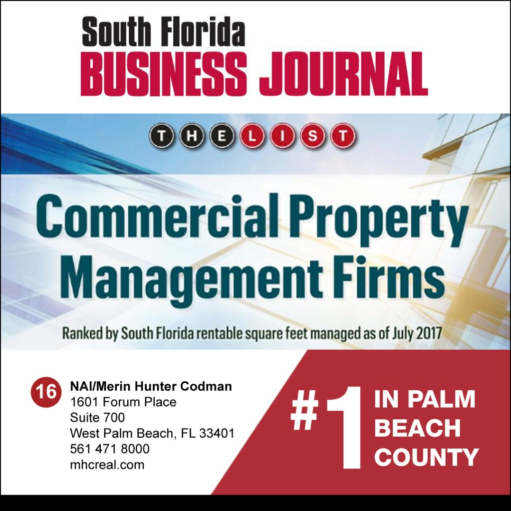 Nai Merin Hunter Codman Is 1 Property Management Firm In Palm Beach County Company News